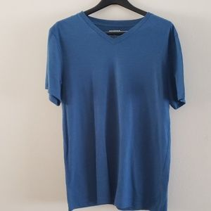 Arizona Size L Men's Blue V neck Tee